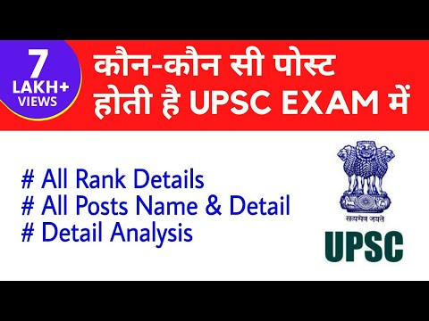 रैंक/श्रेणी (Rank/Category) के अनुसार Service Allocation - UPSC CSE (IAS, IPS, IFS, IRS etc)