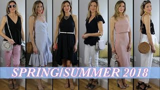 Lookbook Spring / Summer 2018! Outfit Ideas, Pretty Dresses, Stylish Handbags!