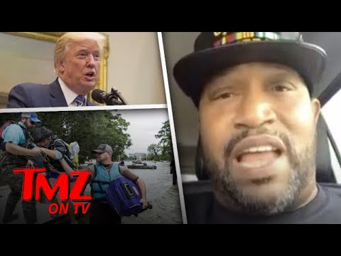 Hurricane Harvey Telethon – Trump's Not Invited! | TMZ TV