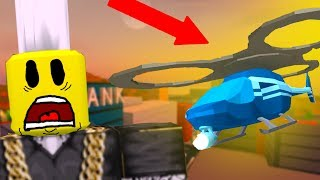 NEW FIDGET SPINNER HELICOPTERS! (Roblox Jailbreak)