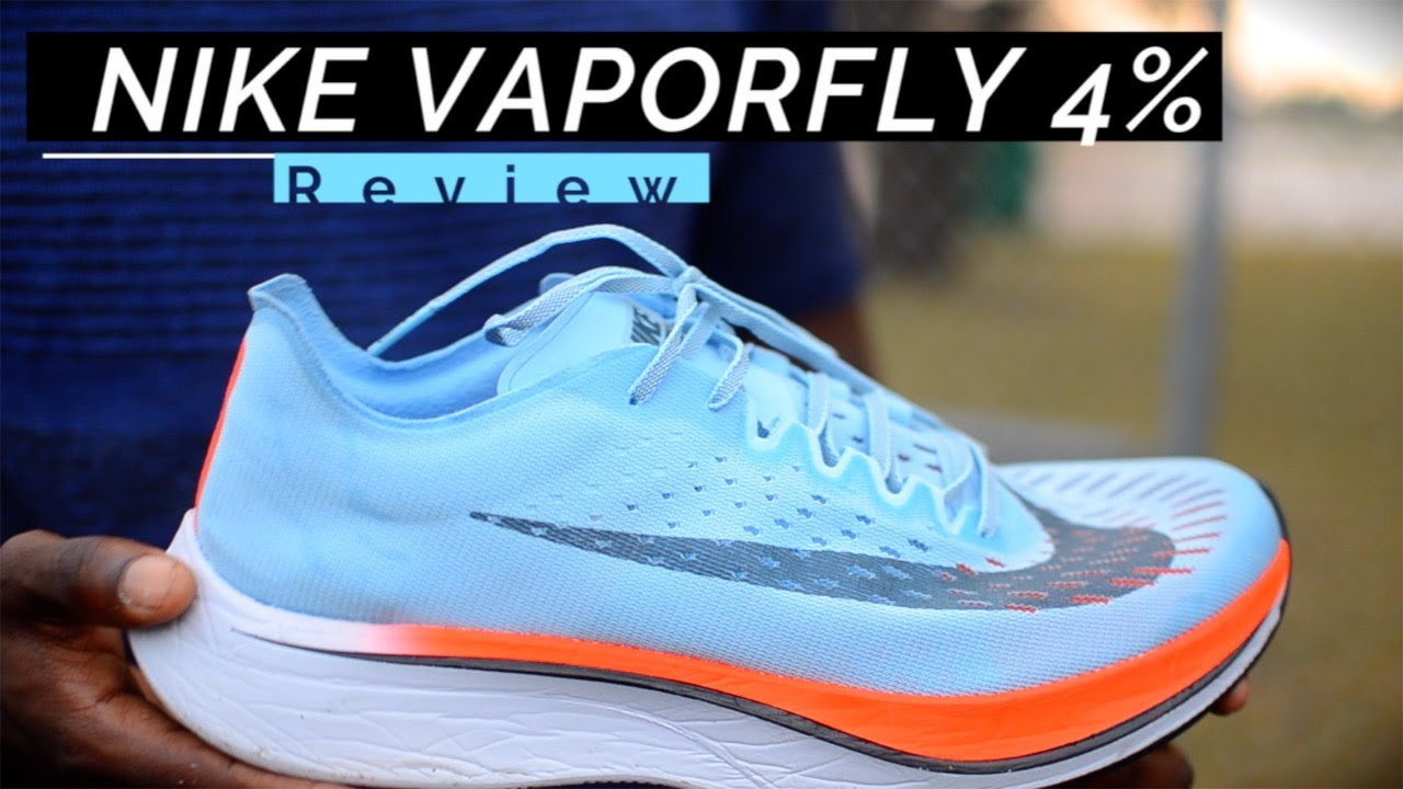 8accf45bf977 NIKE VAPORFLY 4% REVIEW (BREAKING2) - YouTube