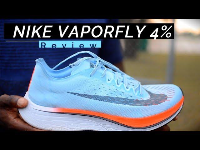 NIKE VAPORFLY 4% REVIEW (BREAKING2