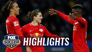 Watch full highlights between hertha bsc berlin vs. rb leipzig.#foxsoccer #bundesliga #rbleipzig #herthabscsubscribe to get the latest fox soccer content: ht...