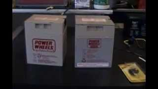 How To Modify A 12 Volt Power Wheels Battery The Correct Way - Modified Power Wheels