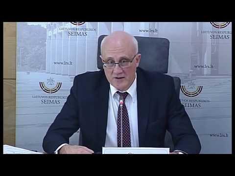 2019-04-02 Viktoro Pranckiečio ir Stasio Jakeliūno spaudos konferencija