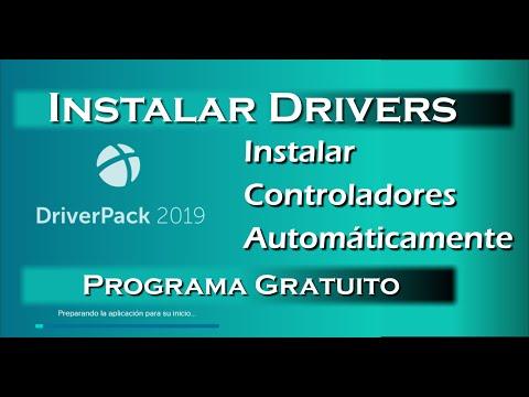 Instalar Drivers Automáticamente Con DriverPack 2019