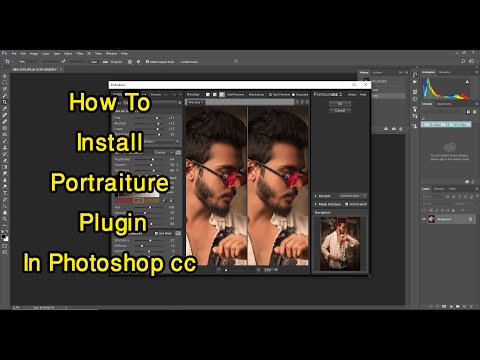 How To Install Portraiture Plugin In Photoshop Cc