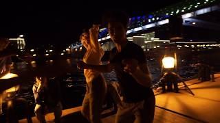 Самба - Open air - Бальные танцы в Парке Горького, Москва, 14 августа 2018