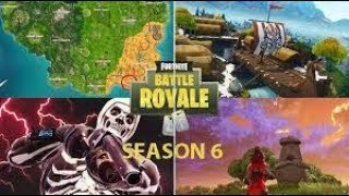 Fortnite Season 6 Battle Pass Quest Complete trials for time 1 location