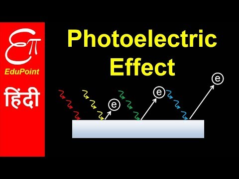 PHOTOELECTRIC EFFECT - Part 1 | Work Function, Threshold Frequency | video in HINDI