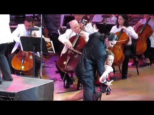 TANGO Miriam Larici Leonardo Barrioneuvo Ford Ampitheatre Jewish Symphony by carpediemfilms.net Travel Video