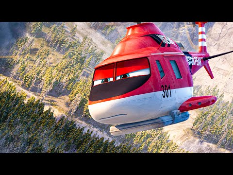 PLANES 2: FIRE & RESCUE All Movie Clips (2014)