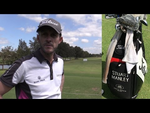 STUART MANLEY WITB - AUSTRALIAN PGA CHAMPIONSHIP GOLF 2015