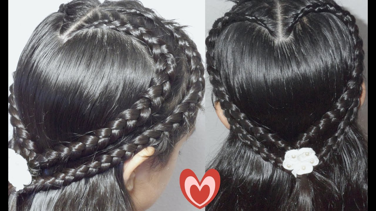 Trenza Doble Corazon Para San Valentin Double Hearth