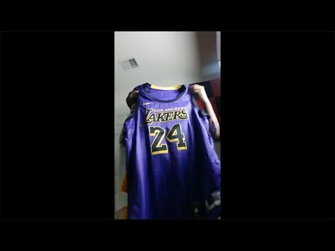 Kobe Bryant City Edition Lakers Jersey Review Live,LakerGangTalk,Anthony Davis,Kuzma