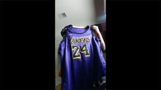 Kobe Bryant City Edition Lakers Jersey Review Live,LakerGangTalk,Anthony Davis,Kuzma