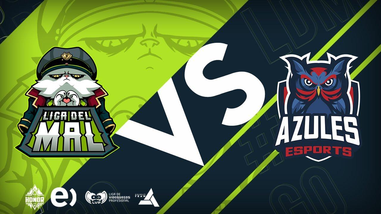 LIGA DEL MAL VS AZULES ESPORTS | Semana 9 Jornada 18 (FIN DE TEMPORADA) | Liga del Mal