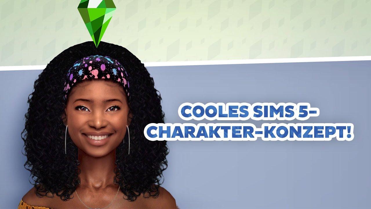 Cooles Die Sims 5-Charakter-KONZEPT!   sims-blog.de