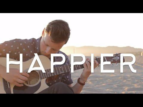 Ed Sheeran - Happier ÷ Fingerstyle Guitar Cover (FREE TAB) - Dax Andreas