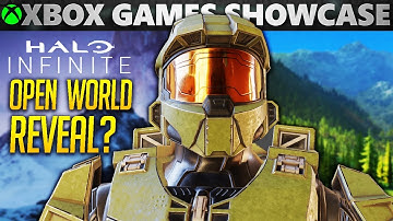 Halo Infinite GAMEPLAY DATE + OPEN WORLD GAMEPLAY EXPLAINED and PREDICTIONS | Xbox Games Showcase