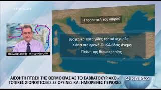 Mega: Το διαφορετικό δελτίο καιρού του Θοδωρή Κολυδά 2017 Video
