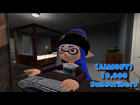 Blu Inkling's ALMOST 10,000 Subscribers  [Splatoon GMOD]