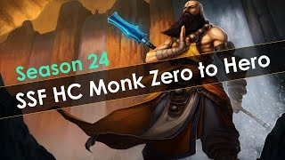 Diablo 3 Season 24 1 70 SSF HC Zero to Hero in 10 hours Horrible Start