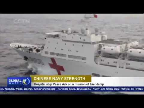 Peace Ark#chin's first domestically developed hospital ship ,has visited 37 countries and regions ..