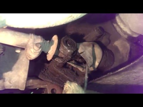Как поменять карданчик кулисы ваз 2110