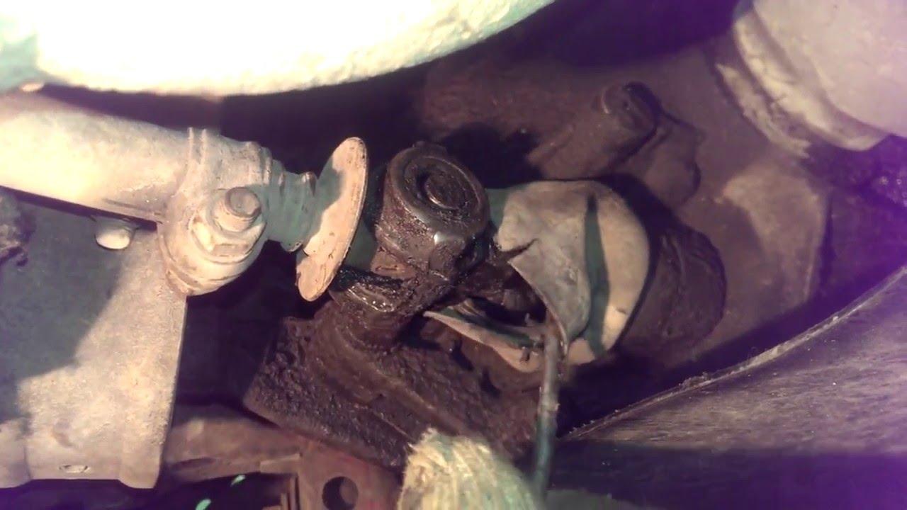 Замена карданчика кулисы КПП ВАЗ 2108 на Калиновский карданчик!