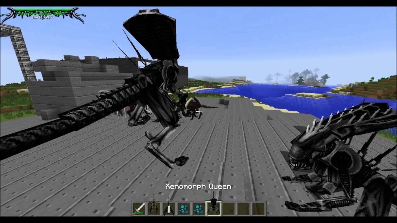 Minecraft Avp Mod New Xenomorph Runners Youtube
