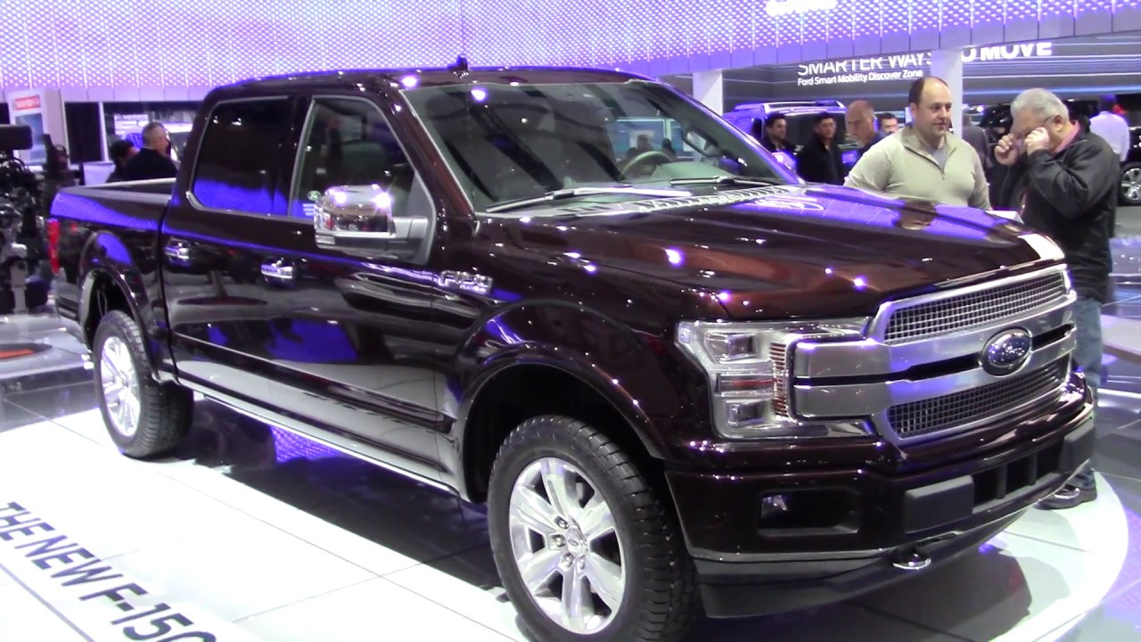 2018 ford f150 and its new engines at the toronto international auto show youtube. Black Bedroom Furniture Sets. Home Design Ideas
