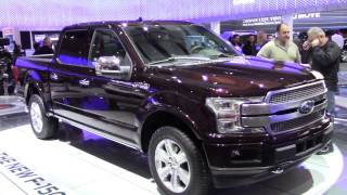 2018 Ford F150 And Its New Engines At The Toronto International Auto Show