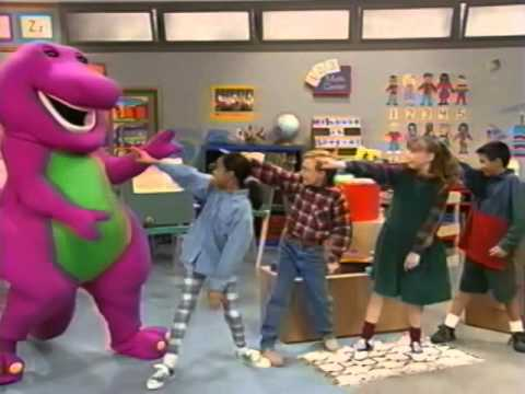Opening To Barney Songs 1995 Vhs