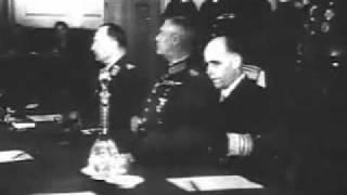 Акт о безоговорочной капитуляции(8 мая 1945 года в Карлсхорсте был подписан акт о безоговорочной капитуляции фашитской Германии., 2010-05-09T04:21:23.000Z)