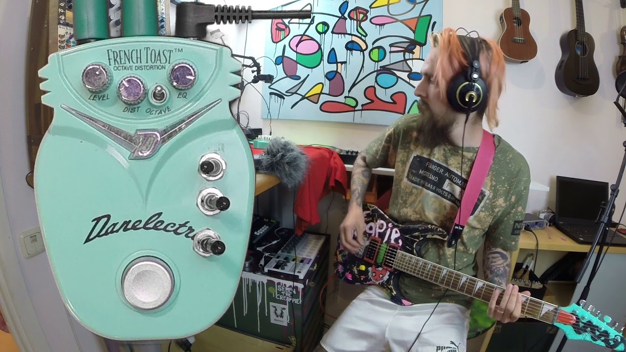 danelectro french toast circuit bending guitar pedals youtube. Black Bedroom Furniture Sets. Home Design Ideas