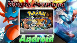 How to download Pokémon Mega adventure On android phone in Hindi