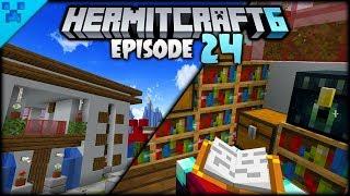A NEW Minecraft Modern House! | Hermitcraft 6 (Minecraft Survival Let
