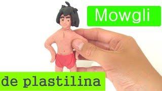 Mowgli de Plastilina pasito a pasito...