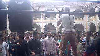 Dj Gustavo Batista en vivo en colegio