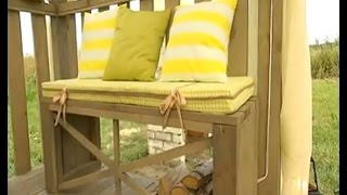 Декоративная подушка из поролона своими руками.(Как сделать декоративную подушку из поролона вы можете увидеть здесь:http://shtory2013.blogspot.ru/2014/11/dekorativnaja-podushka-svoimi-r..., 2014-11-16T09:09:09.000Z)