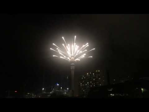 First 2019 New Years Fireworks in the World!!! - Live Auckland New Zealand