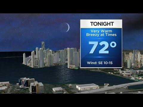 CBSMiami.com Weather @ Your Desk 2-18-18 7PM