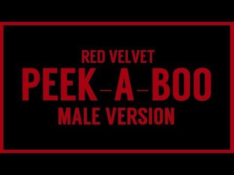 [MALE VERSION] Red Velvet   Peek A Boo