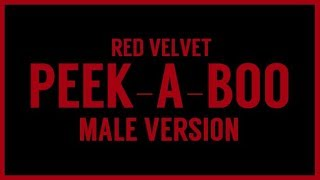 Download Lagu [MALE VERSION] Red Velvet - Peek-A-Boo Mp3