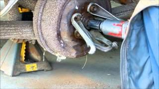 1964 Chrysler rear brake drum removal
