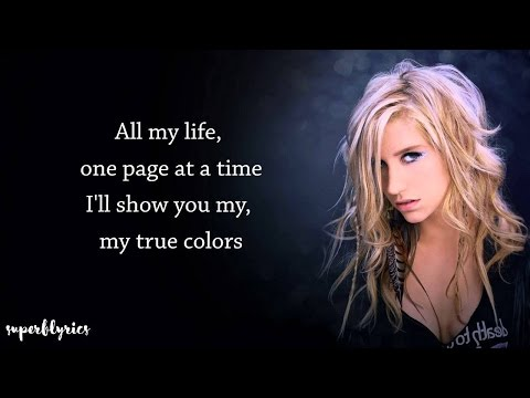 ZEDD FT. KESHA - TRUE COLORS (Lyrics)