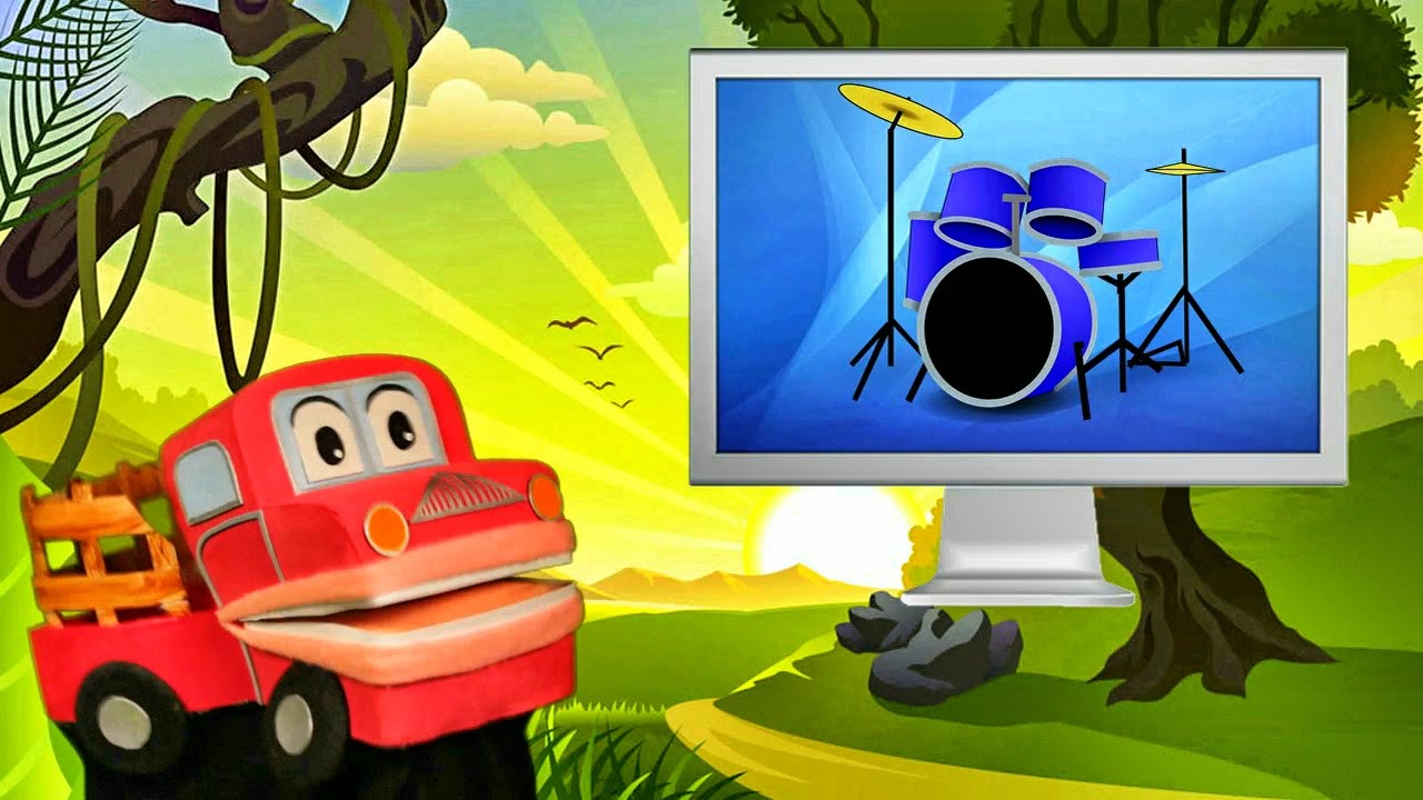 Los Instrumentos Musicales Populares - Barney El Camion - Canciones Infantiles - Video para niños #