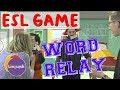 Linguish ESL Games // Word relay// LT110