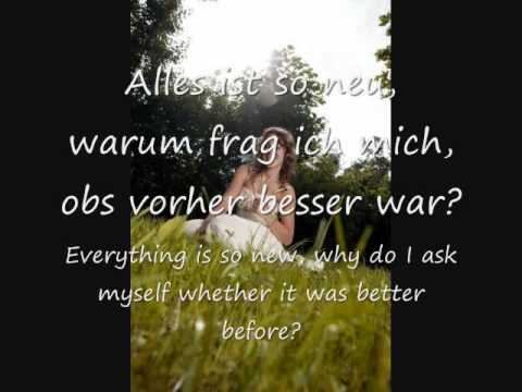 LaFee - Alles Ist Neu/Everything Is New (English translation)